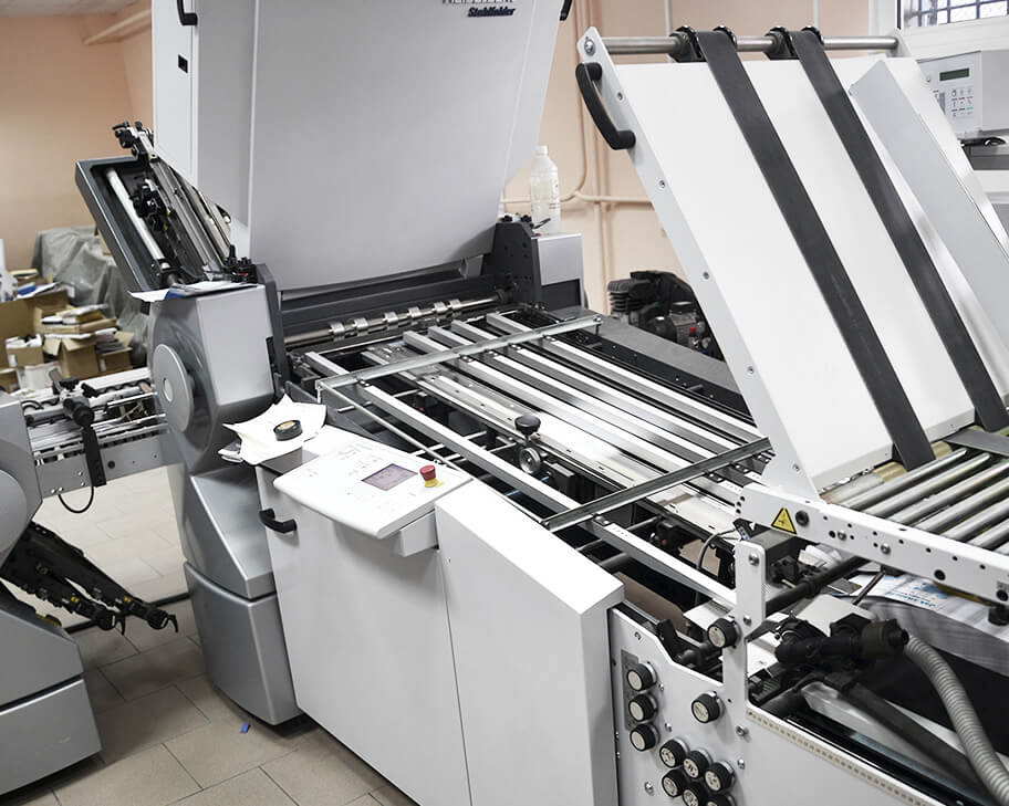 Folding machine Heidelberg Stahlfolder TH 66-4/56-4